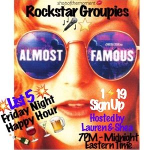 Rockstar Groupies List 5